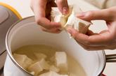 タラコくずし豆腐の作り方2
