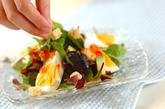 ゆで卵のエスニックサラダの作り方1