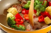 豚肉とパイナップルの炒め物の作り方1