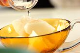 梨の洋酒がけの作り方1
