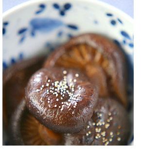 干しシイタケの含め煮
