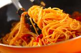 基本のトマトパスタの作り方3