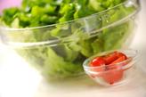 ベーコンレタスサラダの作り方2