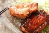 鶏もも肉の漬け焼き