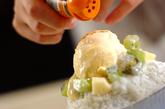 トロピカルココナッツの台湾風かき氷の作り方4