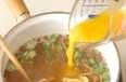 オクラのかきたま汁の作り方2