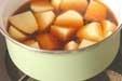 ジャガイモの甘煮の作り方1
