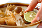 タラとキノコのサッと煮の作り方3