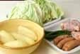 キャベツのスープ煮の下準備2