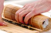 節分の巻き寿司(恵方巻き)の作り方6