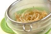 モヤシの塩炒めの作り方1