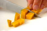 カボチャのモンブランの作り方1
