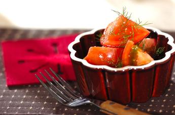 トマトのディルサラダ
