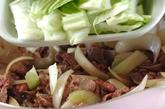 炒めカレーの作り方1