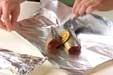 サンマのホイル蒸し焼きの作り方1