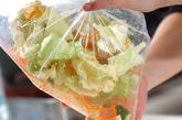 春キャベツのササッと漬けの作り方1
