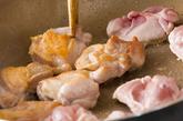 鶏肉ニンニクとろとろソースの作り方2