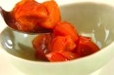 トマトとカニカマの炒め物の作り方2
