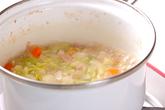 ジャガイモの豆乳スープの作り方2