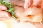 ささ身の梅はさみ揚げの作り方3
