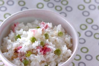 なごり桜ご飯