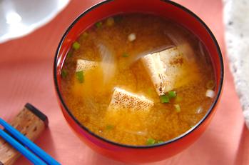 焼き豆腐のみそ汁