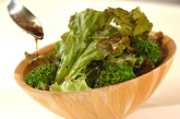 サニーレタスのシンプルサラダの作り方1