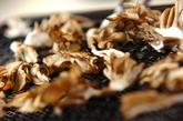 焼きマイタケのおろし汁の下準備1