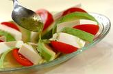 豆腐とアボカドのカプレーゼ風サラダの作り方2