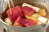 マグロと豆腐のショウガ煮の作り方2