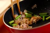 豚とニンニクの芽の炒め物の作り方2