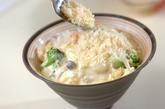 海鮮クリーム丼の作り方4