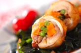 鶏肉のロール煮