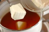 豆腐と卵のスープごはんの作り方2