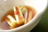 白ネギのショウガ酢