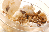 ブリの混ぜご飯手巻きの作り方2