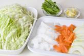 野菜スープうどんの作り方1
