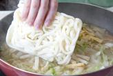 野菜スープうどんの作り方3