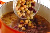 ひき肉ビーンズカレーの作り方4