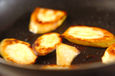 サツマイモの焼き肉タレ焼きの作り方1