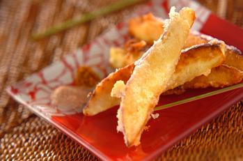 サツマイモのココナッツフリット