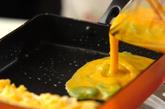 ソラ豆入り卵焼きの作り方2