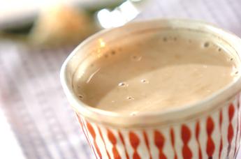 ショウガの豆乳甘酒