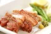 豚バラ肉の塩焼き