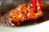 鶏の照り焼き大和芋丼の作り方4