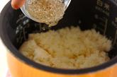 チリメンジャコ入り稲荷寿司の作り方3