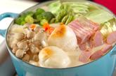 京風チーズ鍋の作り方4