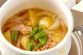 ジャガイモとベーコンの煮物の作り方2