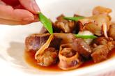 豚バラとイカ煮の作り方3