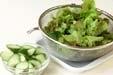 グリーンサラダの下準備3